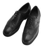 Men Dress Shoes Stock Photo