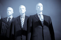 Men dummies in suits Stock Photography