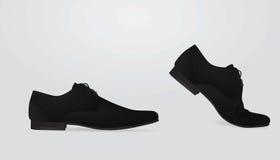 Men elegant shoe Royalty Free Stock Image