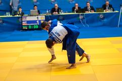 Men Europe Cup tournament Judo Stock Photography