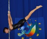 MEN EUROPE POLE DANCE CHAMPIONSHIP Stock Photos