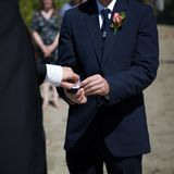 Men Exchanging Wedding Rings royalty free stock photography