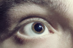 Men eye closeup Stock Photos