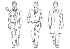 Men fashion Royalty Free Stock Photo