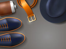 Men Fashion Concept Illustration Stock Photos
