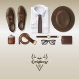 Men Fashion Concept Stock Photos