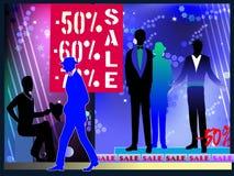Men fashion sale Stock Images