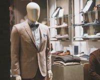 Men fashion store Stock Images