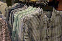 Men fashion store Royalty Free Stock Image