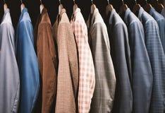 Men fashion store Royalty Free Stock Photos