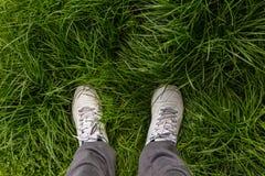 Men feet Royalty Free Stock Photography