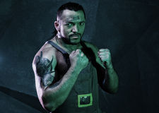 Men fighter Stock Photos