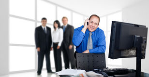 Men finance at your service Stock Photography