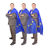 Men with the flag Royalty Free Stock Images