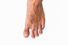 Men foot Stock Image