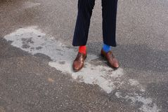 Men& x27; gambe di s Fotografie Stock