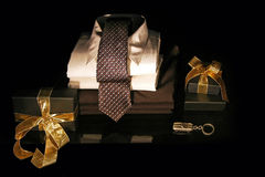 Men gift Stock Photo