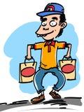 Men go shopping Royalty Free Stock Photos