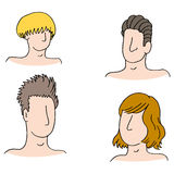 Men Hairstyles Stock Image