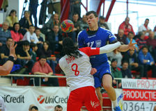Men Handball Action Royalty Free Stock Images