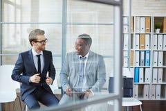 Men having meeting Stock Photos