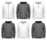 Men hoodie Stock Photography