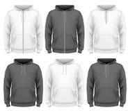 Men hoodie. Design templates. vector illustration vector illustration