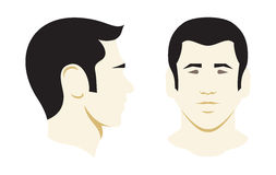 Men  illustration icon Stock Photo