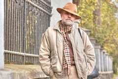 Men In Hat Royalty Free Stock Images