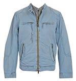 Men jacket. Isolated on white Royalty Free Stock Photography
