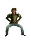 Men jumping Royalty Free Stock Images