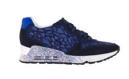 men& x27; la s calza le scarpe da tennis Immagine Stock