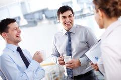 Men laughing Royalty Free Stock Photos