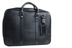 Men leather bag Stock Photography