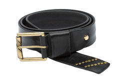 Men leather belt Royalty Free Stock Photo