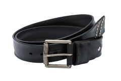 Men leather belt Royalty Free Stock Photography