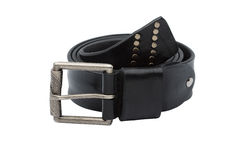 Men leather belt Stock Photography