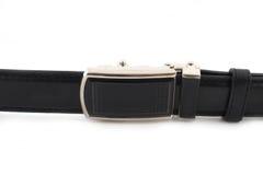 Men leather belt on white Stock Images