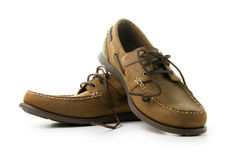 Men leather shoes Stock Photography