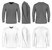 Men long sleeve t-shirt . Stock Image