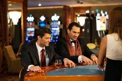 Men in luxury interior Stock Photography