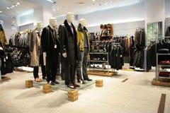Men Mannequins In Shop Royalty Free Stock Images