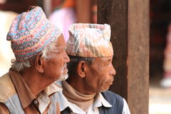 Men from Nepal Royalty Free Stock Photo