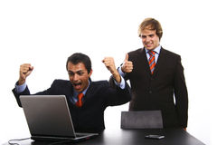 Men at officce Royalty Free Stock Images