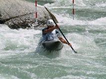 Free Men On A Kayak Stock Photo - 4287120