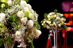 Bouquet in party Royalty Free Stock Photos