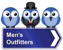 Men outfitters Stock Photography