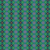 Men pattern with rhombuses Royalty Free Stock Images