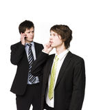 Men on the phone Royalty Free Stock Image