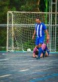 Men play soccer, sport, game 2017 Royalty Free Stock Image